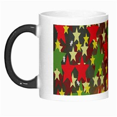 Star Abstract Multicoloured Stars Background Pattern Morph Mugs by Simbadda