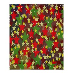 Star Abstract Multicoloured Stars Background Pattern Shower Curtain 60  X 72  (medium)