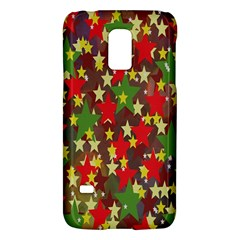 Star Abstract Multicoloured Stars Background Pattern Galaxy S5 Mini by Simbadda
