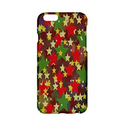 Star Abstract Multicoloured Stars Background Pattern Apple Iphone 6/6s Hardshell Case by Simbadda