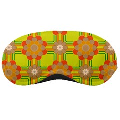 Floral Pattern Wallpaper Background Beautiful Colorful Sleeping Masks