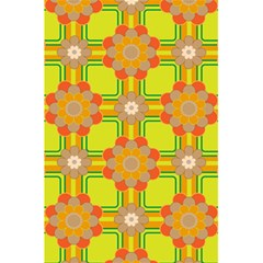 Floral Pattern Wallpaper Background Beautiful Colorful 5 5  X 8 5  Notebooks by Simbadda