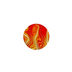 Fire Flames Abstract Background 1  Mini Magnets by Simbadda