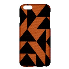 Brown Triangles Background Apple Iphone 6 Plus/6s Plus Hardshell Case