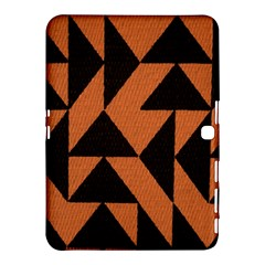 Brown Triangles Background Samsung Galaxy Tab 4 (10 1 ) Hardshell Case