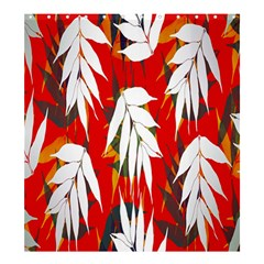 Leaves Pattern Background Pattern Shower Curtain 66  X 72  (large)  by Simbadda