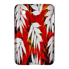 Leaves Pattern Background Pattern Samsung Galaxy Tab 2 (7 ) P3100 Hardshell Case