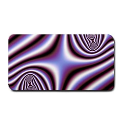 Fractal Background With Curves Created From Checkboard Medium Bar Mats by Simbadda