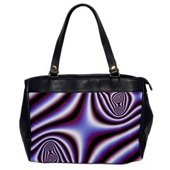 Fractal Background With Curves Created From Checkboard Office Handbags by Simbadda