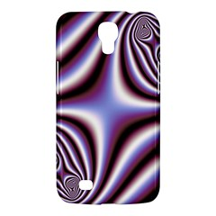 Fractal Background With Curves Created From Checkboard Samsung Galaxy Mega 6 3  I9200 Hardshell Case by Simbadda