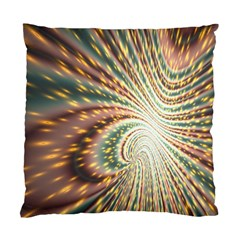 Vortex Glow Abstract Background Standard Cushion Case (two Sides)