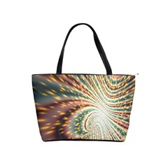 Vortex Glow Abstract Background Shoulder Handbags by Simbadda