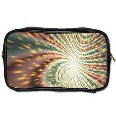 Vortex Glow Abstract Background Toiletries Bags 2 Side by Simbadda