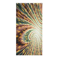 Vortex Glow Abstract Background Shower Curtain 36  X 72  (stall)