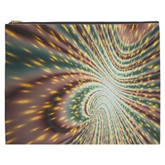 Vortex Glow Abstract Background Cosmetic Bag (xxxl)  by Simbadda