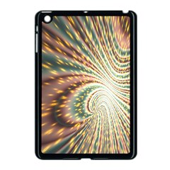 Vortex Glow Abstract Background Apple Ipad Mini Case (black) by Simbadda
