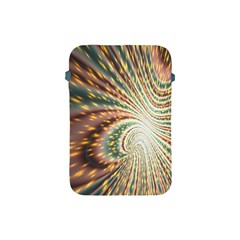 Vortex Glow Abstract Background Apple Ipad Mini Protective Soft Cases by Simbadda