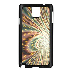 Vortex Glow Abstract Background Samsung Galaxy Note 3 N9005 Case (black) by Simbadda