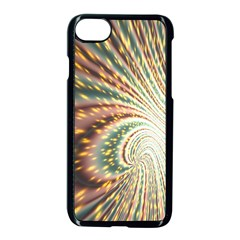 Vortex Glow Abstract Background Apple Iphone 7 Seamless Case (black) by Simbadda