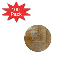 Texture Of Ceramic Tile 1  Mini Buttons (100 Pack)  by Simbadda