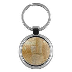 Texture Of Ceramic Tile Key Chains (round)  by Simbadda