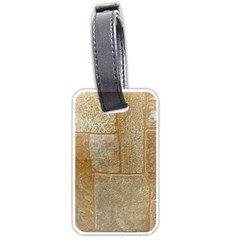 Texture Of Ceramic Tile Luggage Tags (one Side)  by Simbadda