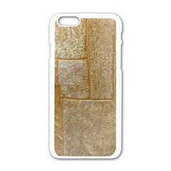 Texture Of Ceramic Tile Apple Iphone 6/6s White Enamel Case by Simbadda