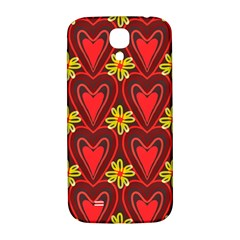 Digitally Created Seamless Love Heart Pattern Tile Samsung Galaxy S4 I9500/i9505  Hardshell Back Case
