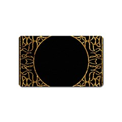 Abstract  Frame Pattern Card Magnet (name Card) by Simbadda
