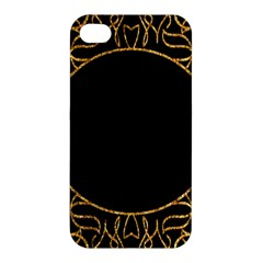 Abstract  Frame Pattern Card Apple Iphone 4/4s Premium Hardshell Case