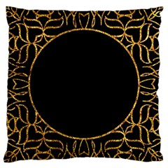 Abstract  Frame Pattern Card Large Cushion Case (two Sides) by Simbadda