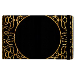 Abstract  Frame Pattern Card Apple Ipad 2 Flip Case by Simbadda