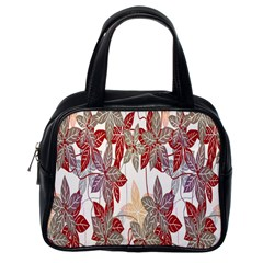 Floral Pattern Background Classic Handbags (one Side) by Simbadda
