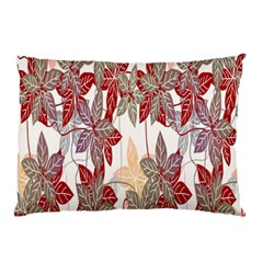 Floral Pattern Background Pillow Case by Simbadda