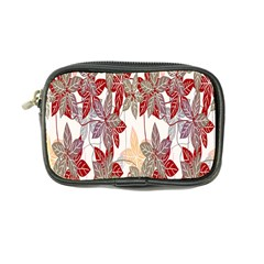 Floral Pattern Background Coin Purse by Simbadda