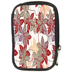Floral Pattern Background Compact Camera Cases by Simbadda