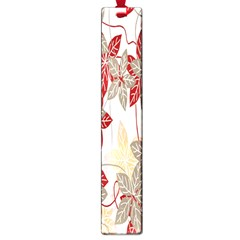Floral Pattern Background Large Book Marks by Simbadda