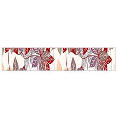 Floral Pattern Background Flano Scarf (small) by Simbadda