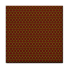 Lunares Pattern Circle Abstract Pattern Background Tile Coasters by Simbadda