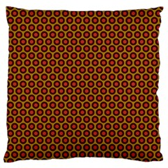 Lunares Pattern Circle Abstract Pattern Background Large Cushion Case (two Sides) by Simbadda