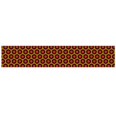 Lunares Pattern Circle Abstract Pattern Background Flano Scarf (large)