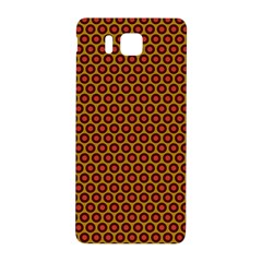 Lunares Pattern Circle Abstract Pattern Background Samsung Galaxy Alpha Hardshell Back Case by Simbadda