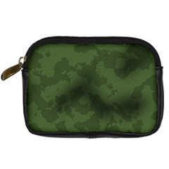 Vintage Camouflage Military Swatch Old Army Background Digital Camera Cases by Simbadda