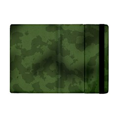 Vintage Camouflage Military Swatch Old Army Background Apple Ipad Mini Flip Case