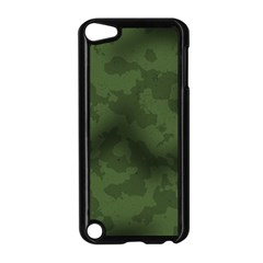 Vintage Camouflage Military Swatch Old Army Background Apple Ipod Touch 5 Case (black) by Simbadda