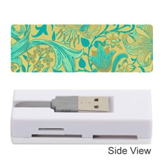 Floral Pattern Memory Card Reader (stick)  by Valentinaart