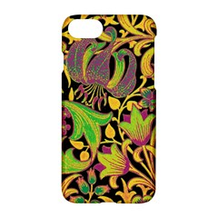 Floral Pattern Apple Iphone 7 Hardshell Case by Valentinaart