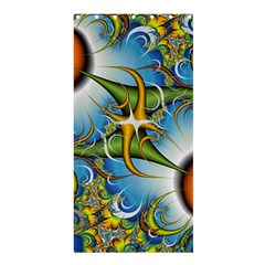 Random Fractal Background Image Shower Curtain 36  X 72  (stall)  by Simbadda
