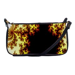 A Fractal Image Shoulder Clutch Bags by Simbadda