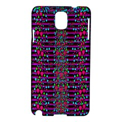 Raining Rain And Mermaid Shells Pop Art Samsung Galaxy Note 3 N9005 Hardshell Case by pepitasart